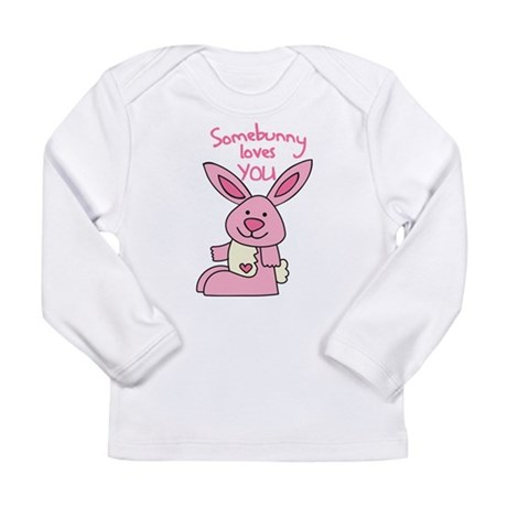 Somebunny Loves You Long Sleeve Infant T-Shirt