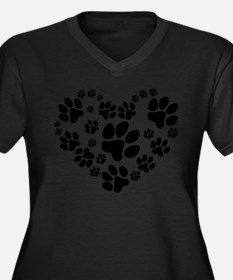catlovepaw1 Plus Size T-Shirt