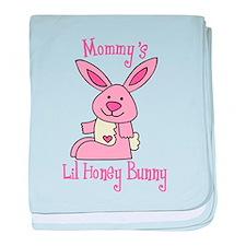 Mommy's Lil' Honey Bunny baby blanket