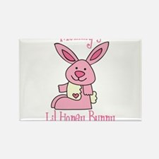 Mommy's Lil' Honey Bunny Rectangle Magnet