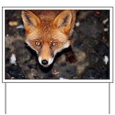 Red fox - Yard Sign