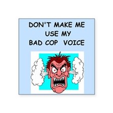bad cop Sticker