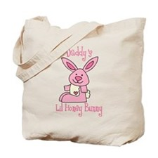 Daddy's Lil' Honey Bunny Tote Bag