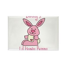 Daddy's Lil' Honey Bunny Rectangle Magnet