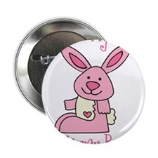 """Daddy's Lil' Honey Bunny 2.25"""" Button"""