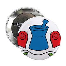 """Mortar & Pestle 2.25"""" Button"""