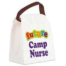Future Camp Nurse Canvas Lunch Bag