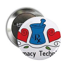 "Pharmacy Technician 2.25"" Button"