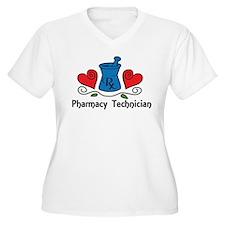 Pharmacy Technician Plus Size T-Shirt