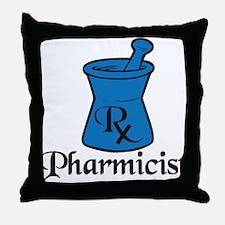 Pharmicist Throw Pillow