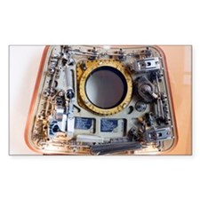 Apollo command module hatch - Decal