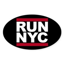 RUN NYC - New York City Decal