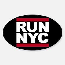 RUN NYC - New York City Decal