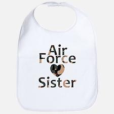 AF Sister Camo Heart Bib
