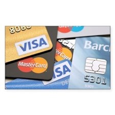 Credit cards - Decal