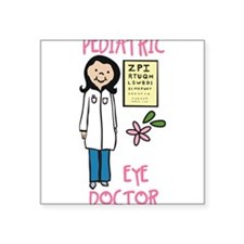 Pediactric Eye Doctor Sticker