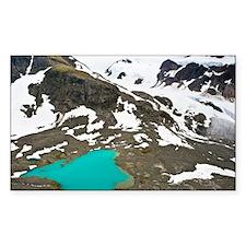 Glacial lake - Decal