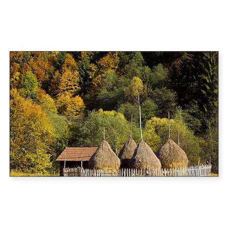 y, Romania - Sticker (Rectangle)