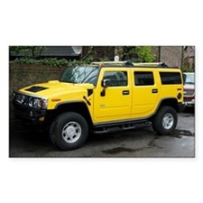 Hummer 4x4 vehicle - Decal