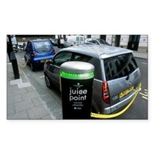 Recharging electric cars - Decal