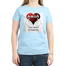 Amish Women's Pink T-Shirt
