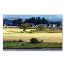 Rural landscape, Scotland - Decal