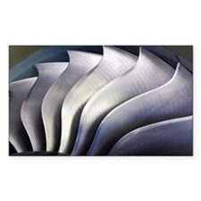 S-curve fan blades - Decal