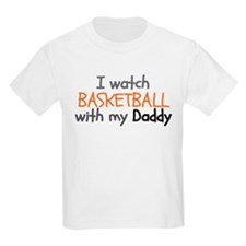 I Watch Football With My Daddy T-Shirt