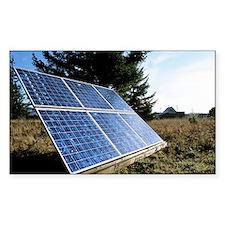Solar panel - Decal