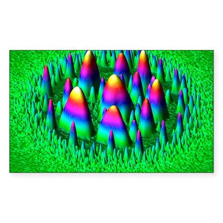 Yttrium oxide, AFM - Sticker (Rectangle)