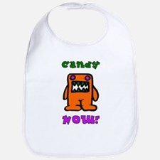 Candy NOW! Bib for Halloween