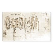 Da Vinci's notebook - Decal