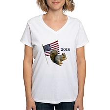 Squirrel President T-Shirt