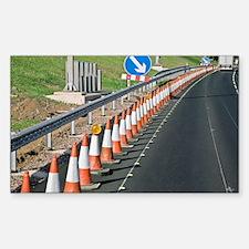 Motorway traffic cones - Decal