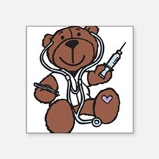 Doctor Teddy Sticker