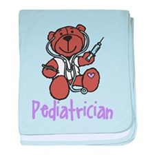 Pediatrician baby blanket