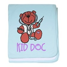 Kid Doc baby blanket