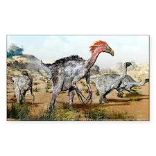 Therizinosaurus dinosuars - Decal