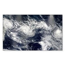 Tropical cyclones - Decal
