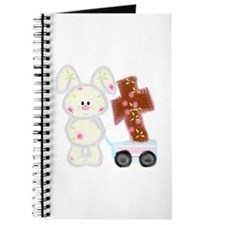 Bunny with a cross Journal