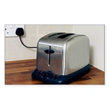 Electric toaster - Decal