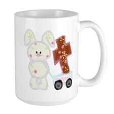 Bunny with a cross Mug