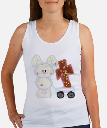 Bunny with a cross Tank Top