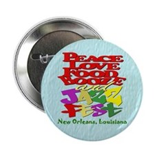 "Jazz Fest 2.25"" Button"