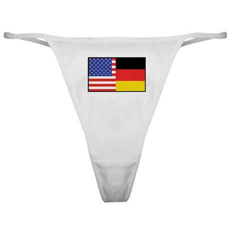 USA/Germany Classic Thong