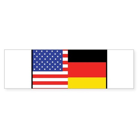 USA/Germany Bumper Sticker