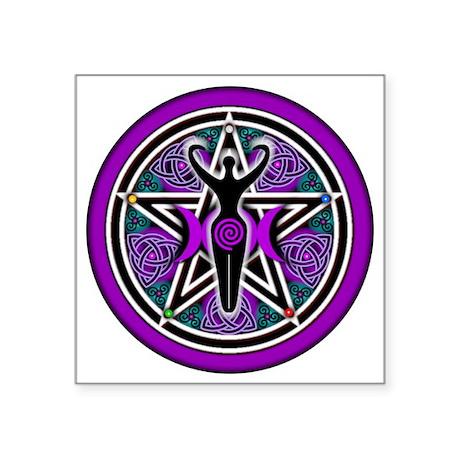 Purple-Teal Goddess Pentacle-transparent 3&quo