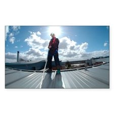 Rooftop safety harness - Decal