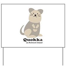 Quokka v.2 Yard Sign