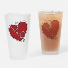 Heart Doctor Drinking Glass